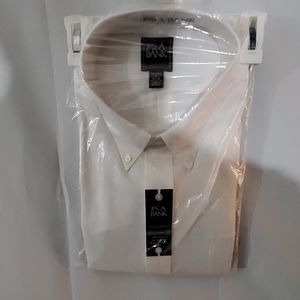 Jos a bank dress shirt white.